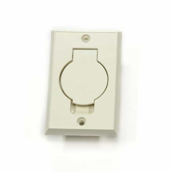 Oval Door Basic Inlet Almond