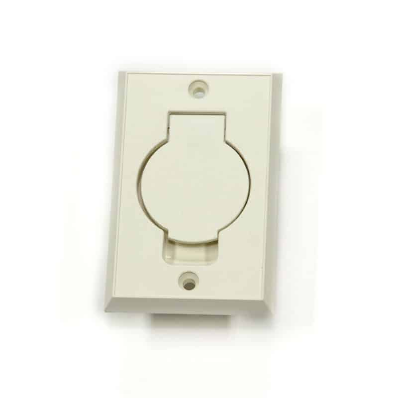 Oval Door Basic Inlet Almond