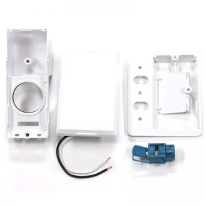 SuperValve Full Face Door Dual Voltage Inlet White