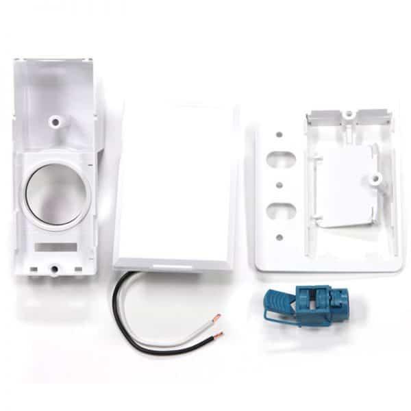 SuperValve Full Face Door Dual Voltage Inlet White