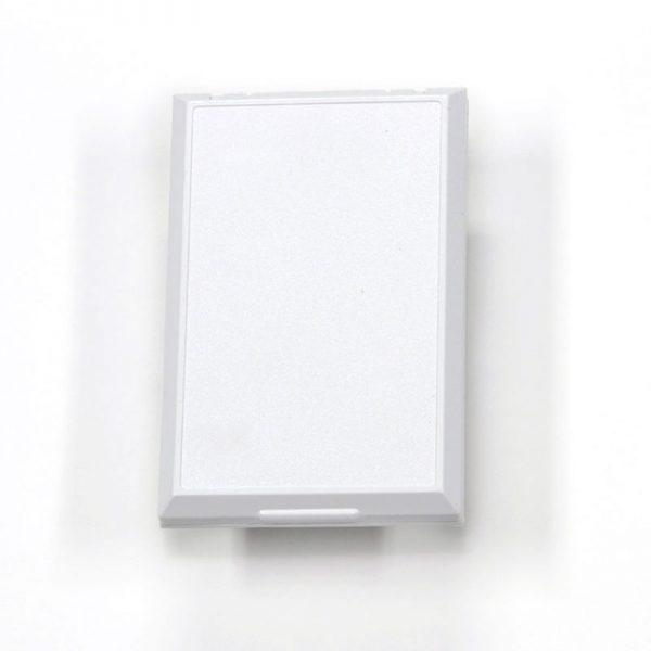 Full Face Basic Central Vacuum Inlet White