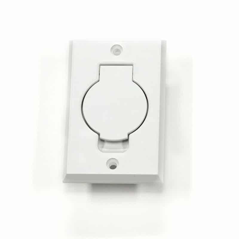 Oval Door Basic Inlet White