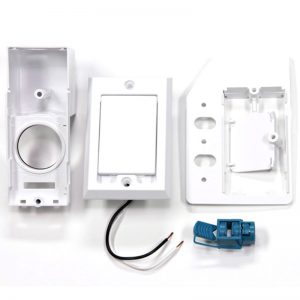 SuperValve Square Door Dual Voltage Inlet White