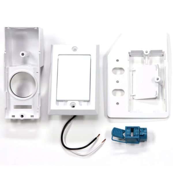 SuperValve Square Door Dual Voltage Inlet White